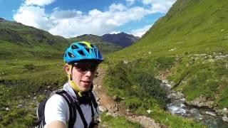 Transalp / Alpen-X Albrecht-Trail Route V2 MTB GoPro Teil 1