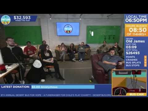 DB8 - Crew explains why Desert Bus 8 isn