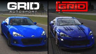 GRID [2019] vs GRID Autosport | Direct Comparison