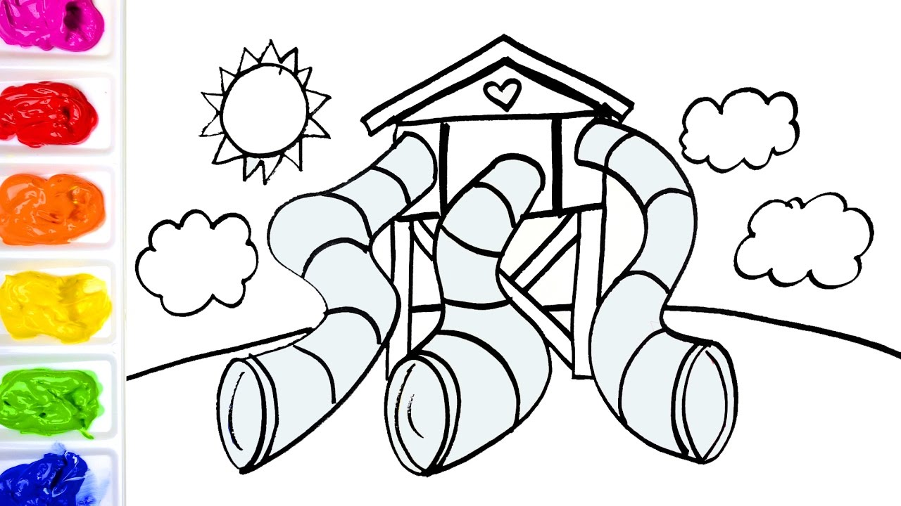 playground coloring pages # 19