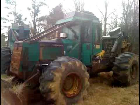 Timberjack 450C Dual Arch Grapple Skidder with winch for Sale