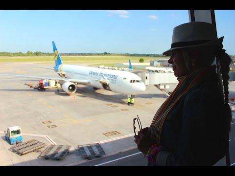 Путешествие в Тунис. Перелет Борисполь - Энфида. Серия 1. Travel to Tunisia. Flight to Enfidha. .