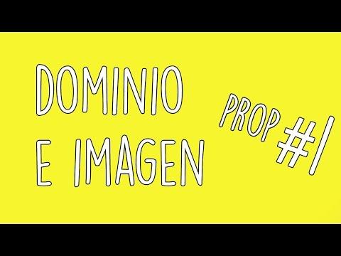 DOMINIO E IMAGEN | PROP FUNCIONES #1