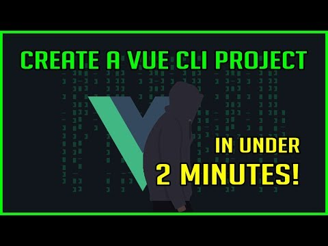 Create Vue.js App With Vue CLI 3 In Under 2 Minutes! thumbnail