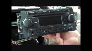 Jeep Compass Aux-Jack and Stereo Removal 2007 - 2008