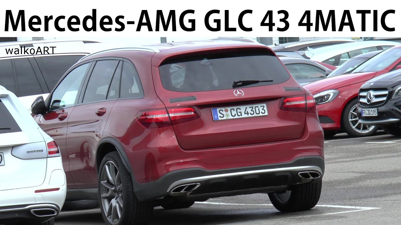 erlk nig mercedes amg glc 43 4matic youtube. Black Bedroom Furniture Sets. Home Design Ideas