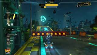 Ratchet & Clank Hoverboard Gold race win in the same millisecond as 2nd place!