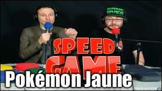 Speed Game - Pokémon Version Jaune fini en 3min14