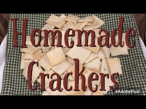 Frugal Snacking - Gluten Free Cracker Tutorial || Frugal Living Series