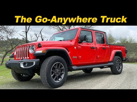 2020 Jeep Gladiator | Part Jeep, Part Truck