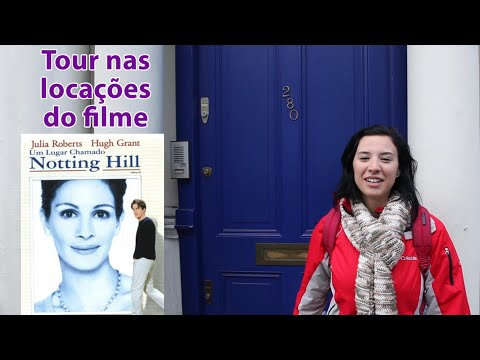 Tour pelas locações do filme Um Lugar Chamado Notting Hill