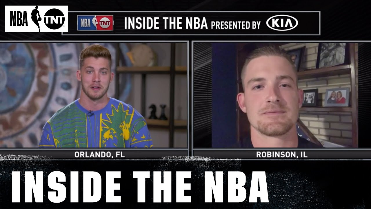 Meyers Leonard's Brother Surprises Him on Inside the NBA | NBA on TNT