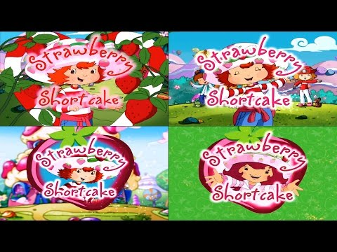 Strawberry Shortcake - Openings Theme ( Seasons 1, 2, 3, 4 )