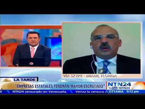 Magistrado Rebolledo habla sobre flujo de dinero sospechoso desde Venezuela