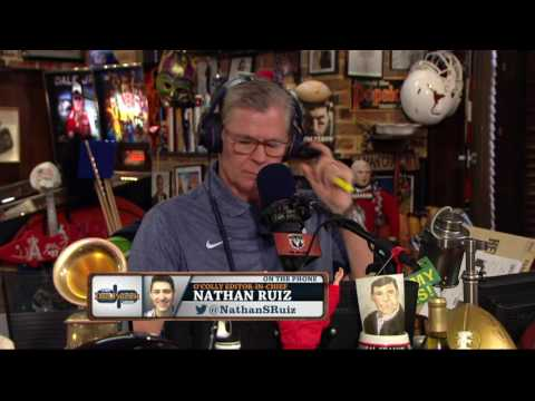 CMU's Nathan Ruiz on The Dan Patrick Show (Full Interview)