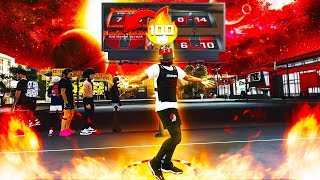 ENDING A 100 GAME WINSTREAK WITH MY LEGEND BUILD ON NBA2K20-1v1 MyPark Event
