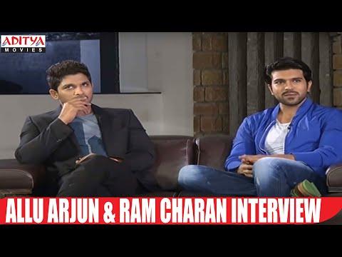 Allu Arjun And Ram Charan Interview || Yevadu Movie