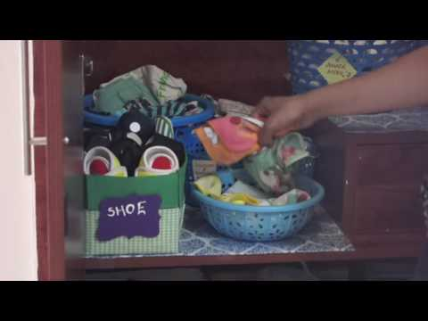 How to Organize Kid's Wardrobe | Very First Video | Organizopedia