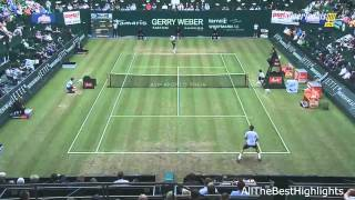 Roger Federer vs Mischa Zverev FULL HIGHLIGHTS   Gerry Weber Open 2013 [HD]