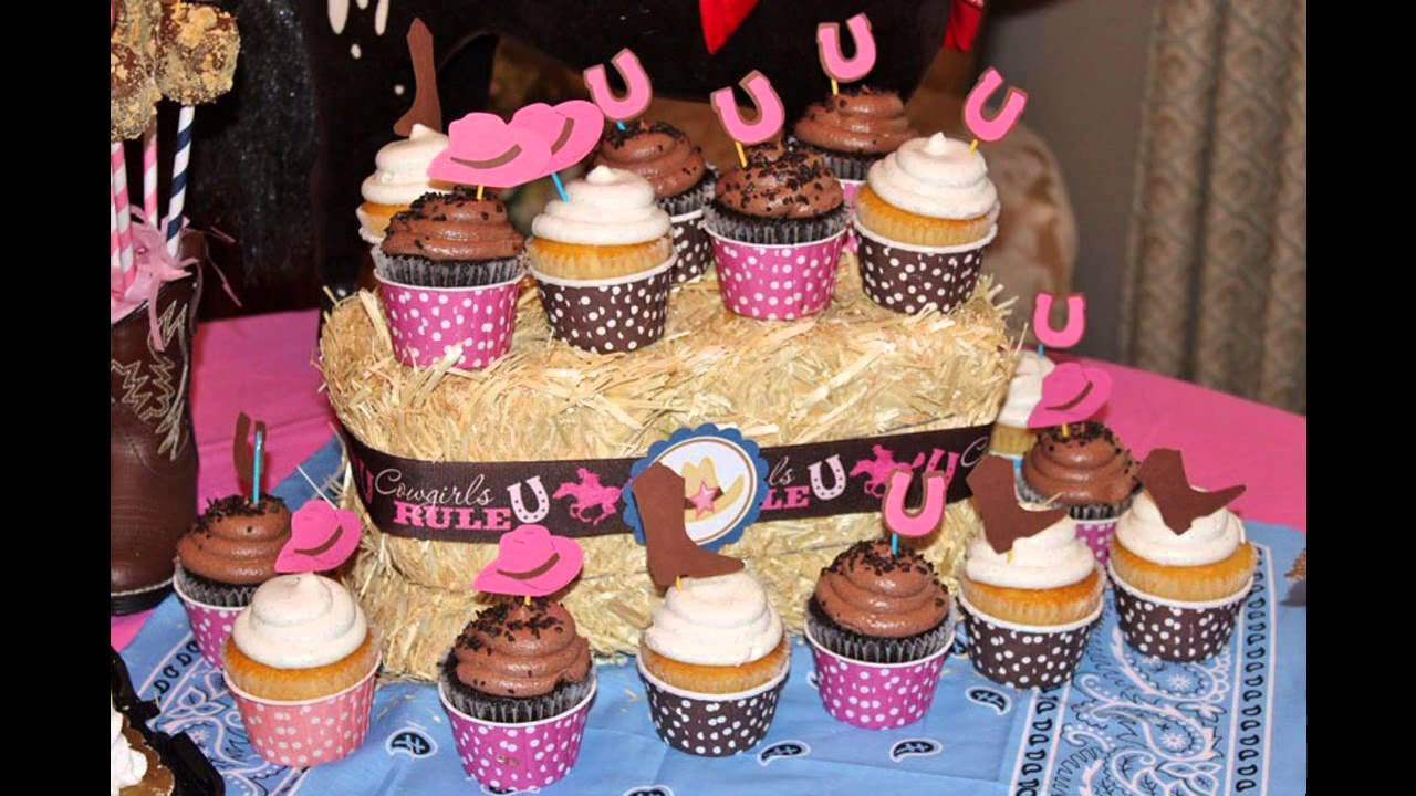 Beautiful Cowgirl birthday party decorations ideas - YouTube