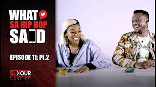 Ayanda MVP & Slikour Discuss Nigerian Music & Get Political With Blaklez