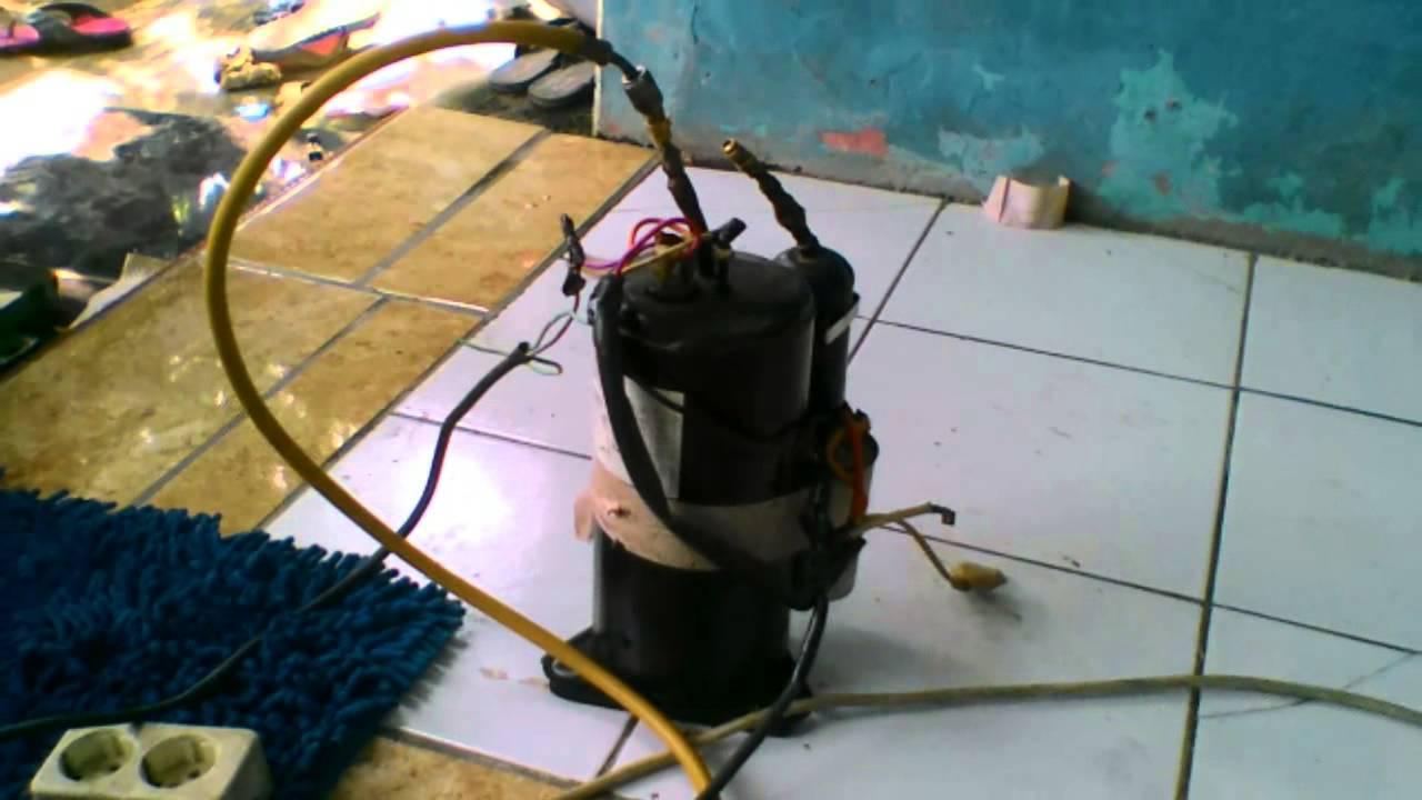 Memperbaiki Pipa Ac Evaporator Yang Bocor Youtube
