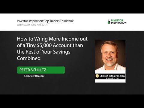 How to Wring More Income out of a Tiny $5,000 Account | Peter Schultz