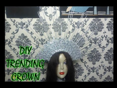 DIY HOW TO MAKE A CROWN 2019