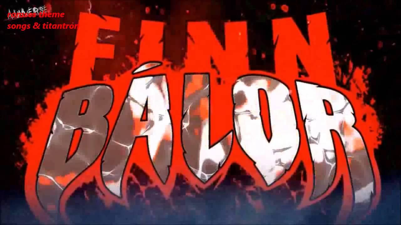 wwe finn balor theme song titantron 2016 youtube