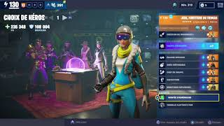 FORTNITE/SAUVER LE MONDE COMPOSITION AVENTURIER DPS JESS!