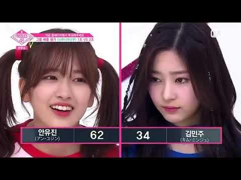 PRODUCE48 ep 4   Very Very IOI   Battle Result Sakura, Miru, Choyeon, Hitomi, ect
