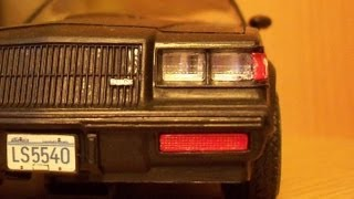 Buick Regal / Grand National in scale 1:24 by Monogram