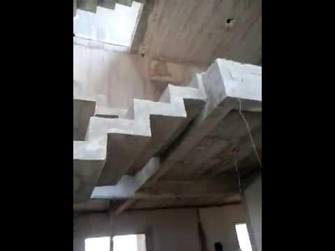 Escada de concreto cascata