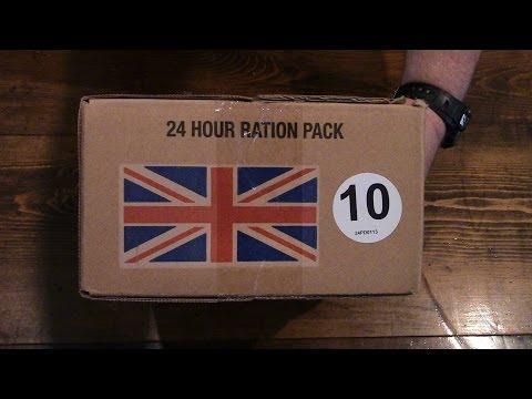 UK Operational Ration Pack