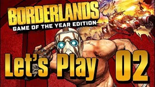 Borderlands GOTY - Let's Play Part 2: Skag Gully