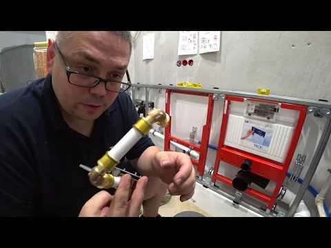 Тонкости монтажа труб, фитингов TECEflex