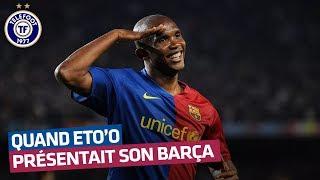 Les vérités d'Eto'o : les joueurs du Barça, Benzema, Messi... (Octobre 2008)
