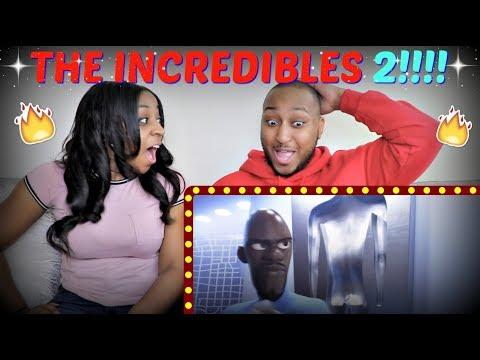 THE INCREDIBLES 2 OFFICIAL TRAILER REACTION!!!