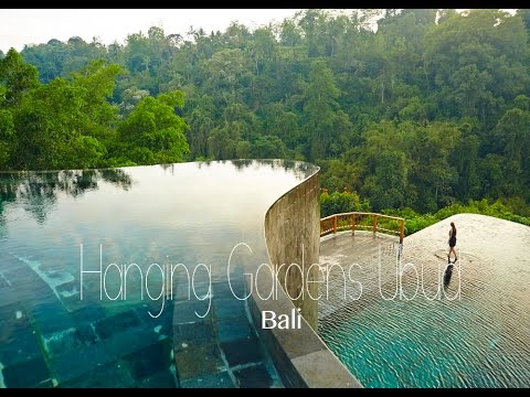 Staying At The World S Best Pool Hotel Hanging Gardens Ubud Bali Youtube
