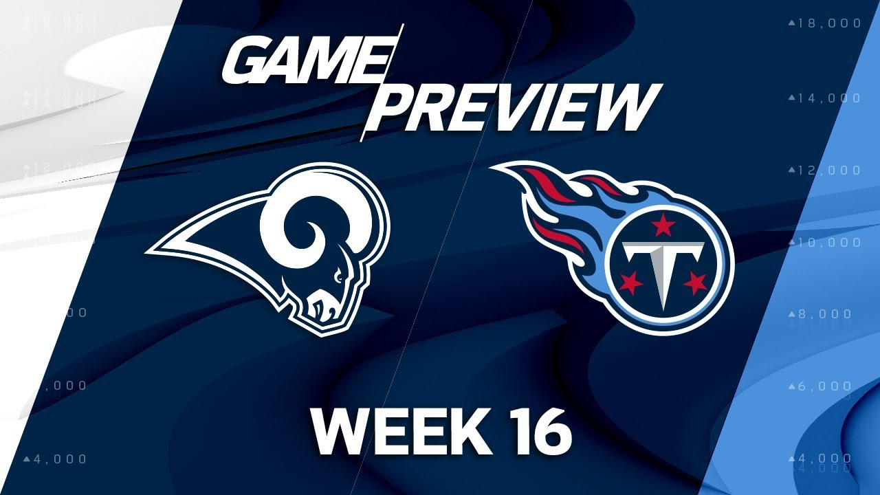Image result for LA Rams vs. Tennessee Titans
