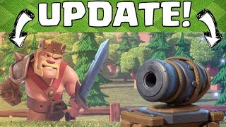 ENDLICH! - NEUE KRIEGE & KANONEKARRE! || Clash of Clans Update [Deutsch German]