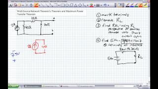 More Thevenins Theorem and Maximum Power Transfer Theorem