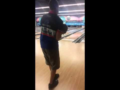 Jo Lefevre sur le Montreal au bowling d'Yvetot