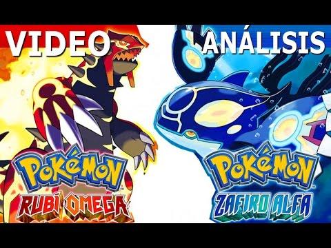 Pokémon Rubí Omega - Zafiro Alfa / Análisis / Review + Gameplay / Remakes de Lujo