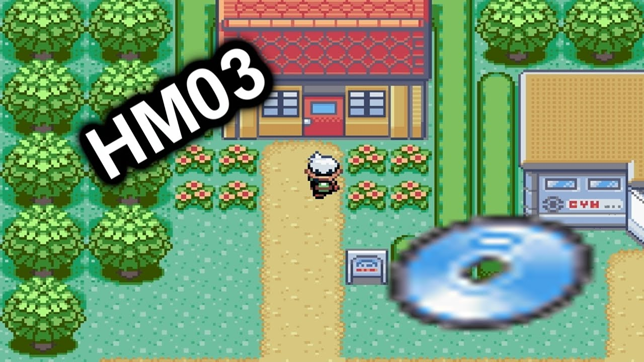 How To Find Hm03 Surf In Pokemon Emerald Youtube