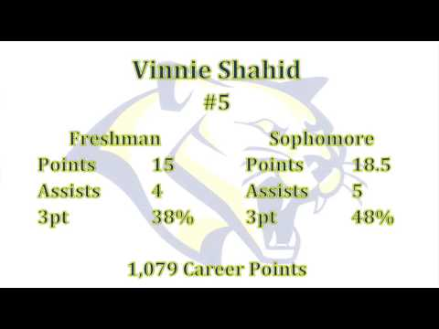 Vinnie Shahid - All-American PG - Sophomore Highlight - Western Nebraska