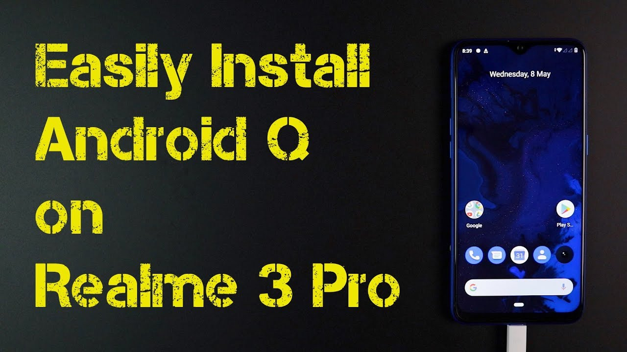 How to Easily Install Android Q on Realme 3 Pro | No Root | No Bootloader  Unlock | Giveaway Winner
