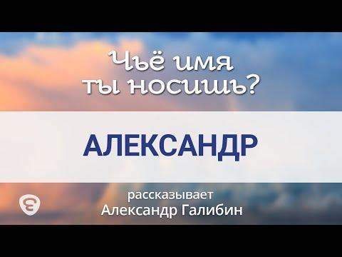 Александр . Чьё имя ты носишь? — Александр Галибин