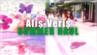 YAY ALIŞ VERIŞİ | SUMMER HAUL | ZARA, H&M, BERSHKA, MAC, URBAN DECAY, PRIMARK | HOLLANDIYA