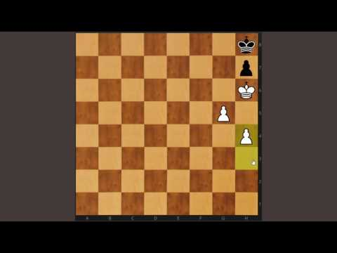COMPLETE CHESS ENDINGS COURSE PART 11 OF 136 - King & Pawn - Calculation!